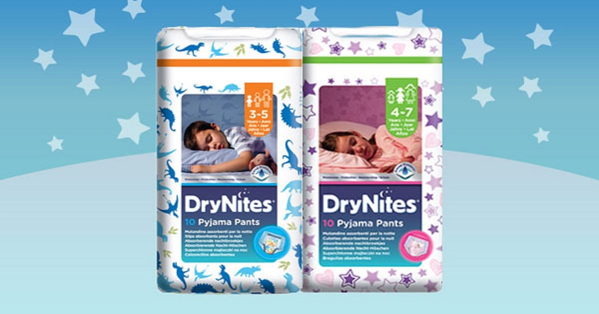 FREE Huggies DryNites Samples