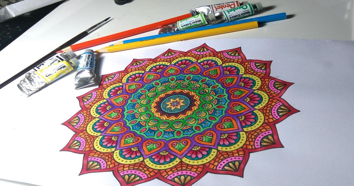 FREE Adult Coloring books for stress-relief