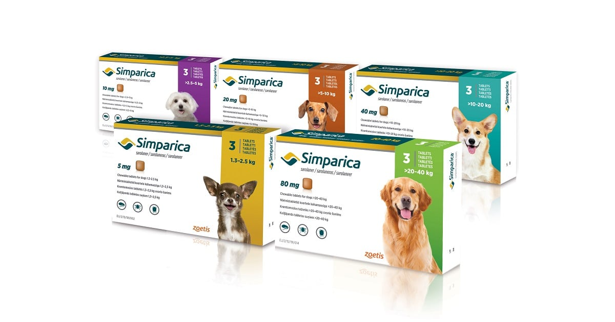 FREE Simparica Pet Flea Protection
